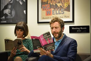 Dawn O'Porter & Chris 